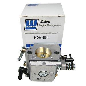 GENUINE Walbro HDA-48 Carburetor Zenoah G45 G62 RC Engine Red Max