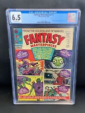 FANTASY MASTERPIECES #1 CGC 6.5 (Marvel 1966) Jack Kirby, Dick Ayers, Don Heck