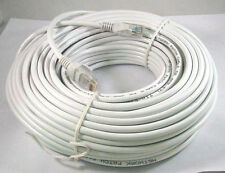 100FT 100 FT RJ45 CAT6 CAT 6 HIGH SPEED ETHERNET LAN NETWORK White PATCH CABLE