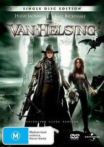 Van Helsing (DVD, 2005), Hugh Jackman, Kate Beckinsale R4 FREE POST