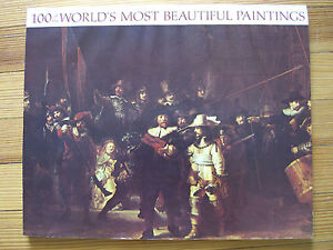 100 of the World's Most Beautiful Paintings- 1st/SC - R. T. V. Sales, Inc., 1966