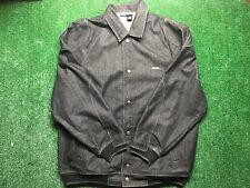 ROCAWEAR Mens URBAN HIP HOP Stylish Denim Dark Button Jean Jacket Size XL