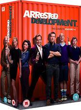 Arrested Development . Complete Series . Season 1 2 3 4 . Jason Bateman . 10 DVD