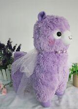 "NEW Dreamy Arpakasso Alpacasso Purple Alpaca Llama Plush 18"" 45CM Gift"