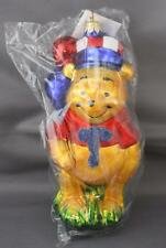 Christopher Radko Fourth of July Pooh 1997 Ornament Top Hat 97-Dis-44 6.25""