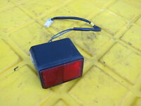 2007 Hyosung GT250R Comet OEM REAR TAIL TAILLIGHT BACK BRAKE LIGHT