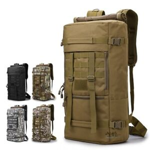 70L Military Tactical Army Backpack Rucksack Hiking Camping Trekking Bag Outdoor
