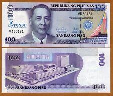 Philippines, 100 Piso, 2011, P-New, UNC > Commemorative 75 years ALS