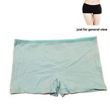 2 pairs Ladies Plain Boxer Underwear Qualify Knickers Panties Boy Shorts Briefs