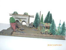 JDK Dioramenbau 1:87 - UNIKAT Handarbeitsmodell bewachter Bunker Wehrmacht