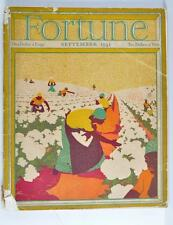 VINTAGE FORTUNE MAGAZINE SEPTEMBER 1931 FREE SHIPPING!!