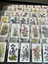 More details for wills cigarette cards alpine flowers a series of 50 full set - near mint / mint