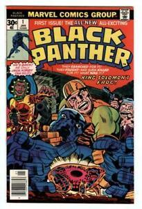 BLACK PANTHER #1 Jan 1977 Avenger MCU Wakanda Jack Kirby art Marvel KEY vf+