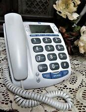 GE Big Button Corded Telephone ~ 29369GEI-A ~ Caller ID Speakerphone ~ Works!!