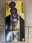 Two Kicker 225w Max car speakers 5.25