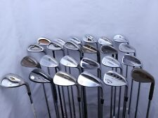Lot of 24 Golf Club Wedges Titleist Cleveland Mizuno Taylormade MSRP $2500