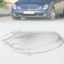 Left Headlight Lens Cover Case for Mercedes-Benz E-Class Sedan W211 2003-2009