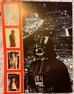 Star Wars The Empire Strikes Back Rare Vintage FKS Sticker Album Book