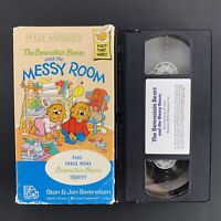 The Berenstain Bears and the Messy Room - 1990 VHS Tape - Tested Plays Great!