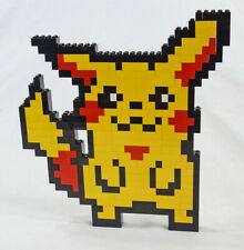 LEGO 8-Bit Pokemon Pikachu 11 Inch Tall Custom Art Set