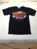 St486 Anvil Aerosmith T-Shirt Small