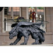 CL3039 - Warwickshire Dragon Glass-Topped Coffee Table - New!
