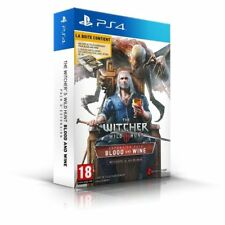 The Witcher 3 III Wild Hunt Blood and Wine Pack Version Française PS4 NEUF