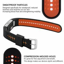 For Fitbit Charge 2 Breathable Bicolor Silicone Sport Watch Band Wristband Strap