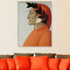 """WANDKINGS Leinwandbild Botticelli - """"Bildnis von Dante Alighieri"""""""