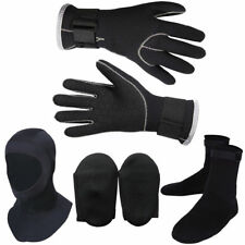 New 3Pc Snorkeling Boots Gloves Hat Water Sports Swimming Scuba Diving 3mm Socks