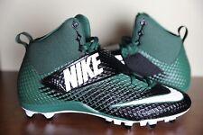New Nike Vapor Untouchable TD Football Cleats Black/Green Size 11.5 707455-022