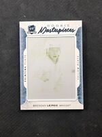 2016-17 UD THE CUP BRENDAN LEIPSIC ROOKIE MASTERPIECES PRINTING PLATE #ed 1/1