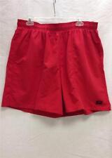Speedo Men's Rally II Swim Suit Trunks Garnet Red Small Sz 26 NEW