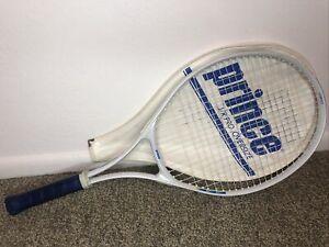 NEUF PRINCE Air Vanquish OS Raquette De Tennis Avec Étui Enfilées Raquette org $214.99