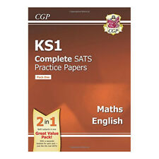 CGP Books New KS1 Maths & English SATS Practice Papers Pack- for the 2017 SATS