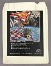 """TRIUMPH """"JUST A GAME"""" 1979 USA 8 TRACK TAPE RESTORED WITH NEW PAD & FOIL TESTED!"""