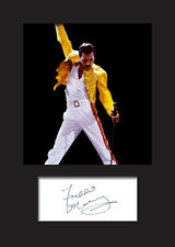 FREDDIE MERCURY #2 Signed Photo Print A5 Mounted Photo Print - FREE DELIVERY