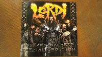 LORDI THE AROCKALYPSE 2007 CD exc! & DVD gd! SPECIAL EDITION DEE SNIDER ROCK