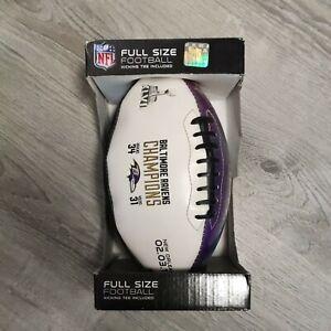 Baltimore Ravens NFL Champions  Super Bowl Official Licensed Football 2013