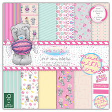 """Dovecraft ~ 8x8"""" Paper Pad ~ Me To You ~ 36 x 150 gsm sheets ~ Sweet Shop"""