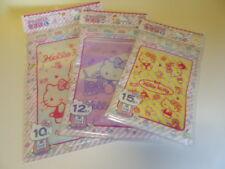 Hello Kitty multipurpose Zip lock bag  new cute 3 size set Japan Sanrio