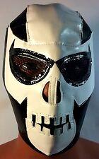 DEATH  SKULL!! WRESTLER/LUCHADOR MASK!! UNIQUE!! LA MUERTE! HANDMADE MASK!!