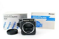 N Mint in box Checked Mamiya 645 Super Medium Format Camera Body only from Japan