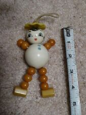 Vintage Girl Bakelite and Plastic Crib Toy, great condition