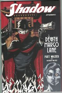 SHADOW THE DEATH OF MARGO LANE TP TPB $19.99srp Matt Wagner 2017 NEW NM