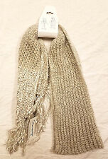 NEW Olsenboye Canilla Cream One size Scarf Polyester Acrylic Wrap Sale Women