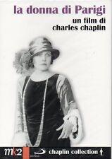 LA DONNA DI PARIGI - C. CHAPLIN - 2 DVD (NUOVO SIGILLATO)