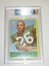HERB ADDERLY (Packers) Signed 1967 PHILADELPHIA Card #74 Beckett Authenticated