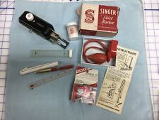 New ListingVintage Singer Sewing Accessories Button Hole attach Skirt Marker Sewing Kit etc