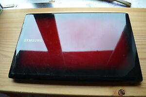SAMSUNG NP-R580 RED SCREEN LID BA75-02368A with wifi cables